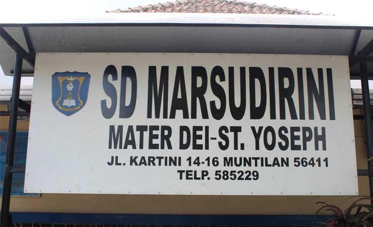 Sejarah Singkat SD Marsudirini St. Yoseph Muntilan