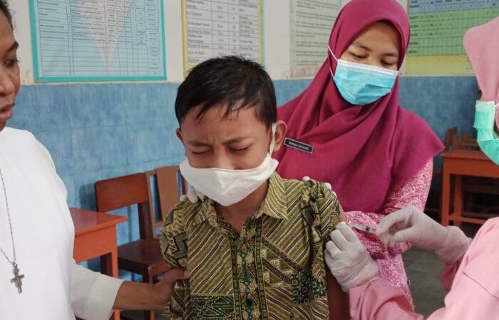 Imunisasi Kelas I, II dan V SD Marsudirini St. Yoseph Muntilan
