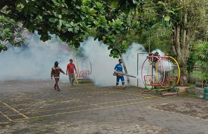 Fogging di SD Marsudirini St. Yoseph Muntilan