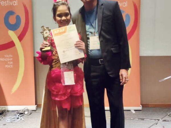 Runner Up Vocal Gold Award (Malaysia)