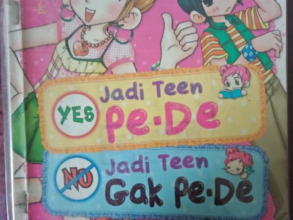 Resensi Buku : Komik TEN TEN SERIES Yes Jadi Teen Pe-De No Jadi Teen Gak Pe-De